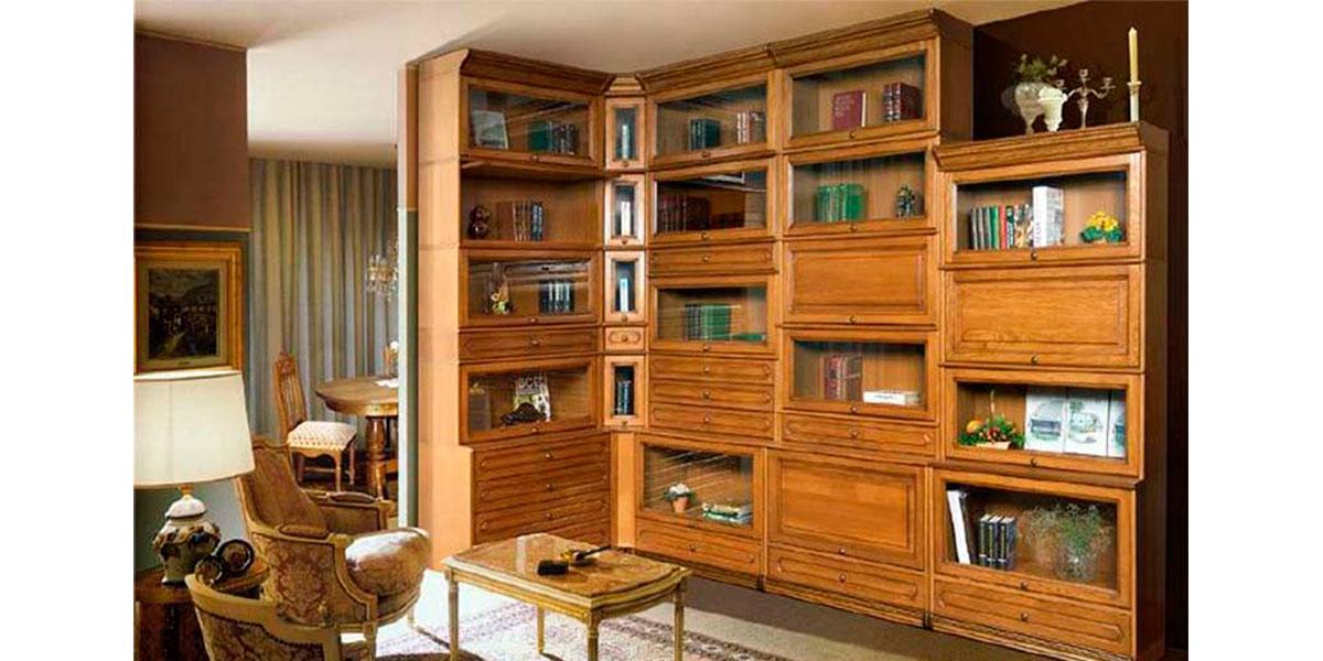 Домашняя библиотека - мебельная фабрика dizain-gr.